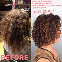 Home haircolor damage fixed by professional Hair colorist Carleen Sanchez