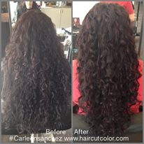 curly hair artist carleen sanchez reno nevada color expert wavy swavy coily salon specialist best